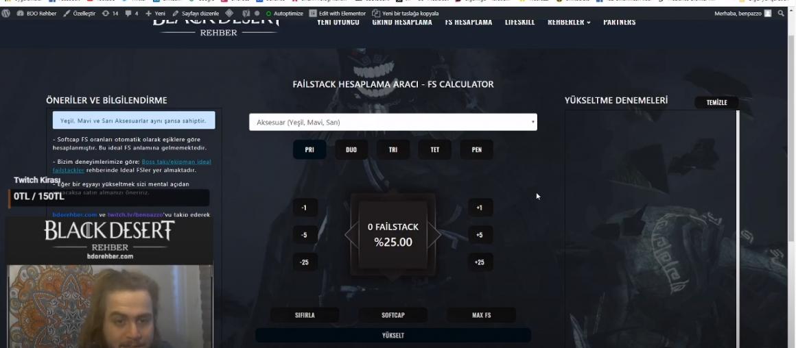 100 FS'ye Kadar Detaylı Failstack Kasma Rehberi